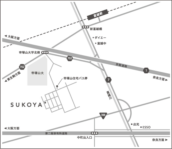 SUKOYA map
